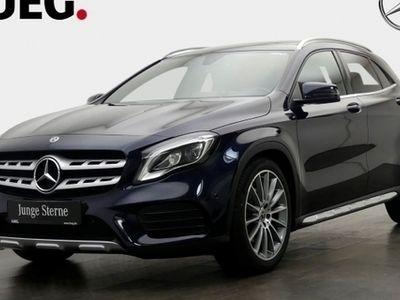 gebraucht Mercedes GLA250 4M AMG Navi+Pano+LED+19+Kamera