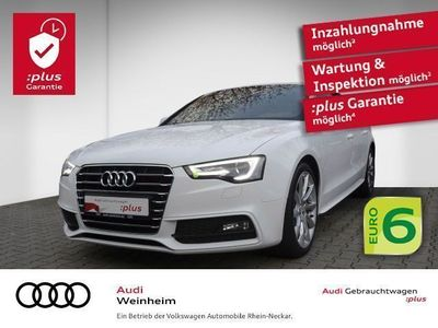 gebraucht Audi A5 Sportback 2.0 TDI S-Line Navi Xenon Einparkhilfe