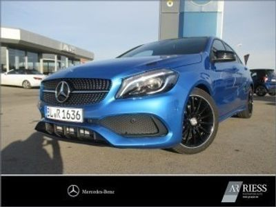 gebraucht Mercedes A180 Limousine AMG Line+Night-Paket+Navi