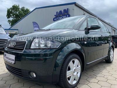 gebraucht Audi A2 1.4*2.HD*Klima*S-Heft*Alufelgen