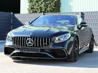 gebraucht Mercedes S63 AMG S 63 AMG AMG4M+ Coupe DESIGNO BENGALROT*EXCLUSIVE