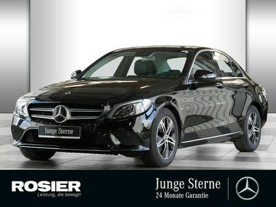 gebraucht Mercedes C200 Avantgarde LED Navi SHD Kamera Spurh.-Ass.