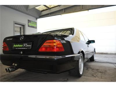 gebraucht Mercedes 600 SEC V12 175TKM Dts.Fzg. 3.Hd Vollausst.Samml