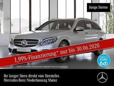 gebraucht Mercedes C220 d T 4M Avantgarde LED Kamera Spurhalt-Ass 9G