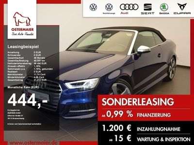 gebraucht Audi S3 Cabriolet TFSI 300PS QUATTRO S-TRONIC M-RIDE.