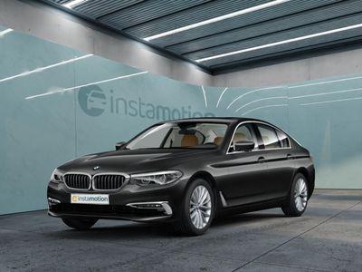 gebraucht BMW 530 530 i Luxury Line Park-Assistent Leder LED Navi Keyless Klimasitze