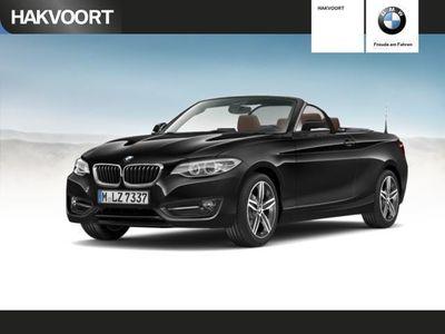 gebraucht BMW 218 2er d Cabrio Sport Line Navi Business Klimaaut. Sportsitze Xenon 17''LM