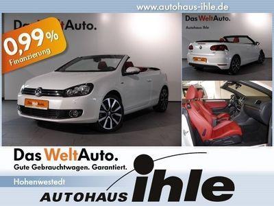 """gebraucht VW Golf Cabriolet 1.6 TDI BMT Lounge Klima+18""""+Navi"""