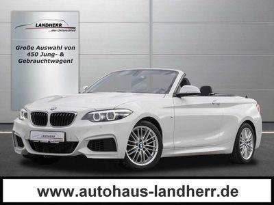 gebraucht BMW 218 i Cabrio Aut. M Sport // LED/NAVI/SHZ