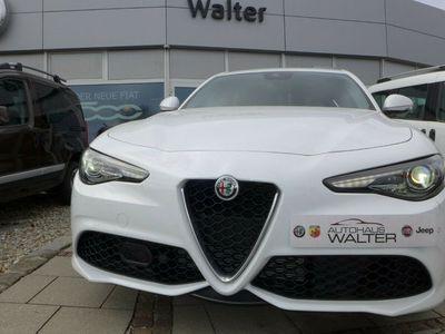 gebraucht Alfa Romeo Giulia Veloce 2.0 Turbo 16V Q4 AT8 BiancoTabacco