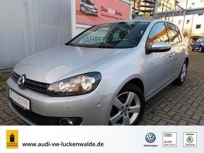 gebraucht VW Golf VI 1.4 TSI Team DSG *GRA*NAVI*SHZ*