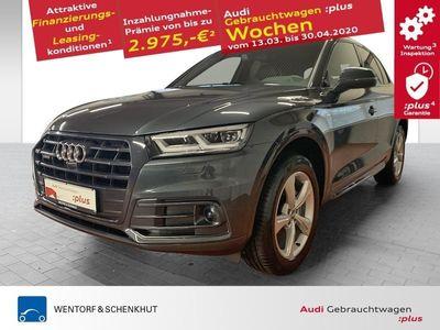 gebraucht Audi Q5 40 TDI quattro sport S-line Standheizung B&O AHK Navi