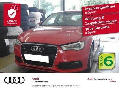gebraucht Audi A3 Sportback 2.0 TDI S-Line Automatik Navi Xenon uvm