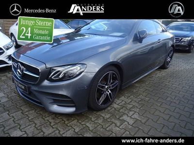 gebraucht Mercedes E220 AMG Coupé Pano.+Navi+Night+LED+SHZ+PTS+