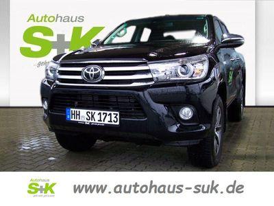 gebraucht Toyota HiLux Executive Double Cab 2,4-l-D-4D 6-Stufen-AT
