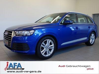 gebraucht Audi Q7 3,0TDI qu. tiptr. 3x S-Line ,LED,Standhzg,PanoD