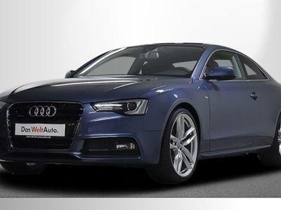 gebraucht Audi A5 Coupé S line 2.0 TDI quattro S tronic Navi