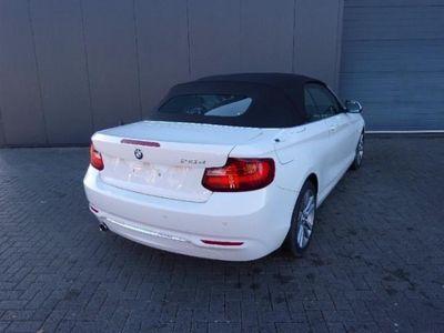 gebraucht BMW 218 d Luxury Line Cabrio AUT Leder Xenon Xenon