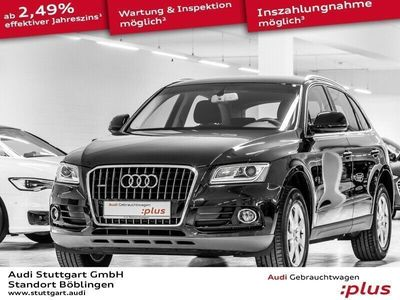 brugt Audi Q5 2.0 TDI quattro S tronic AHK Xen Navi Kamera