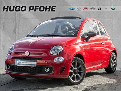 gebraucht Fiat 500C Sport 1.2 8V Navi CarPlay Bluetooth