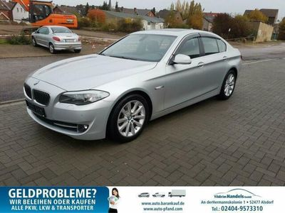 gebraucht BMW 528 i 1 HD,R.KAMERA,NAVI,ESSD,LEDER,SITZH.,PDC