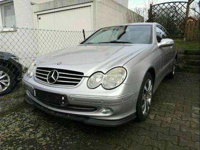 gebraucht Mercedes CLK200 Coupe Kompressor Automatik Avantgarde