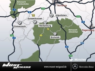 gebraucht Mercedes 350 GLCd 4MATIC Coupé AMG-Line/NAVI/Kamera SHD