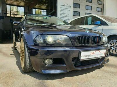gebraucht BMW M3 Cabriolet E46/Schalter/Navi/Xenon/Leder/