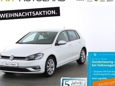gebraucht VW Golf VII Highline VII 1.5 TSI BMT | NAVI LED schwarz