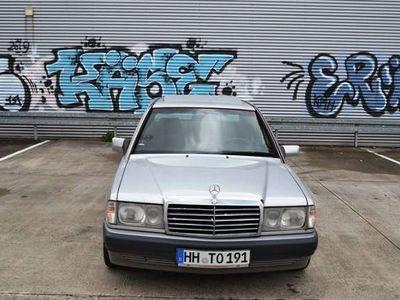 """gebraucht Mercedes 190 2.0 ESSD MAL Alu """"Melber"""" Navi 8 Fach Bereift"""