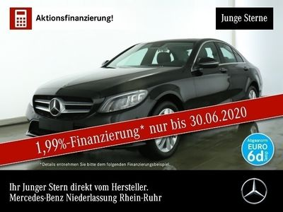 gebraucht Mercedes C220 d 4M Avantgarde Multibeam SHD Keyl-GO Kamera