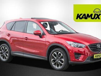 käytetty Mazda CX-5 2.2 TD Sports-Line AWD EU6 +Navi +ACC +Kamera +Leder