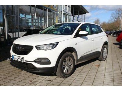 gebraucht Opel Grandland X Edition 1.2 Turbo EU6d Klima PDC Tem