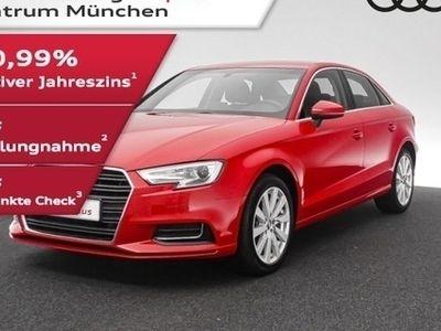 gebraucht Audi A3 Limousine 1.5 TFSI design Navi/AHK/PDC+/SitzHzg
