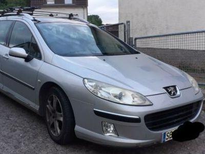 gebraucht Peugeot 407 SW HDi 135 ahk turbo vermutlich defekt