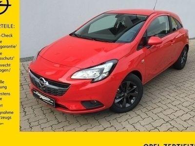 gebraucht Opel Corsa E 1.2 3T +IntelliLink+SHZ