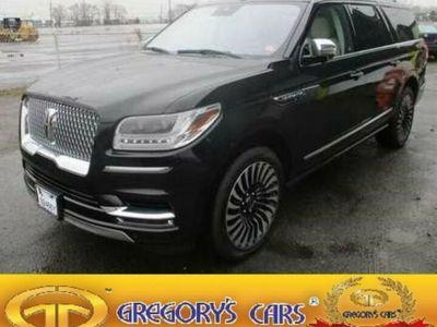 gebraucht Lincoln Navigator L BLACK LABEL 2020! V6 7s Exp.price T1