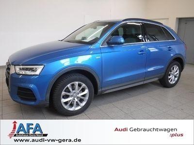 gebraucht Audi Q3 2,0 TDI Design LED*AHK*Navi*Pano