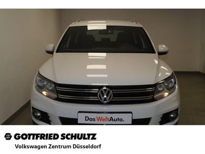 gebraucht VW Tiguan Lounge 2,0 TDI BlueMotion LOUNGE Sport &