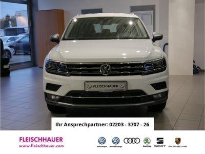 gebraucht VW Tiguan Allspace Highline 4Motion 2.0 TSI DSG NAVI LEDER ACC