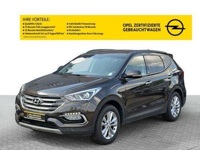 gebraucht Hyundai Santa Fe blue 2.2 CRDI 2WD Family+ - kein EU!