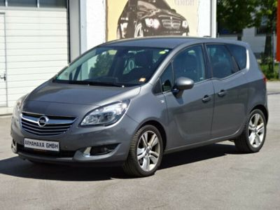 gebraucht Opel Meriva 1.6 CDTI Cosmo NAVI LEDER KAMERA PDC ALU