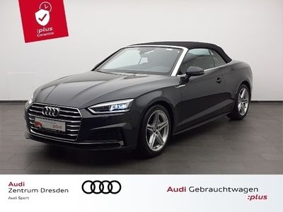 gebraucht Audi A5 Cabriolet sport 40 TDI S tronic S line LED SW