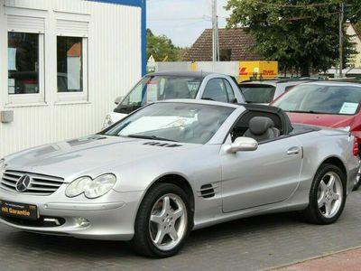 gebraucht Mercedes SL500 CABRIO+VOLLAUSSTATTUNG+AMG ALUFELGEN