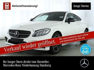 gebraucht Mercedes C180 Cp. AMG Pano LED Night Kamera PTS Sitzh Temp