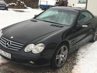 gebraucht Mercedes SL500 schwarz. FESTPREIS!! NIcht Verhandelbar