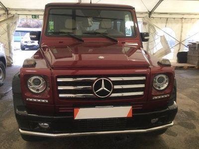 gebraucht Mercedes G500 L EDITION select DESIGNO-exclu FondTV VOLL
