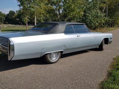 gebraucht Cadillac Deville 1966 CABRIO convertible silbermetallik
