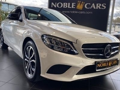 gebraucht Mercedes C220 d 9G-TRONIC LED NAVI KAMERA NIGHT PAKET