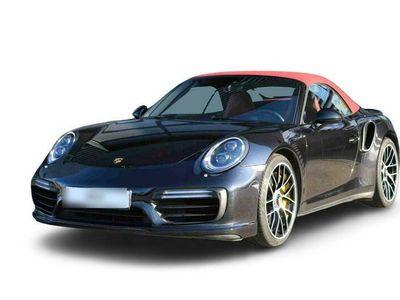 gebraucht Porsche 991 (911) Turbo S Cabriolet |Hinterachslenkung|